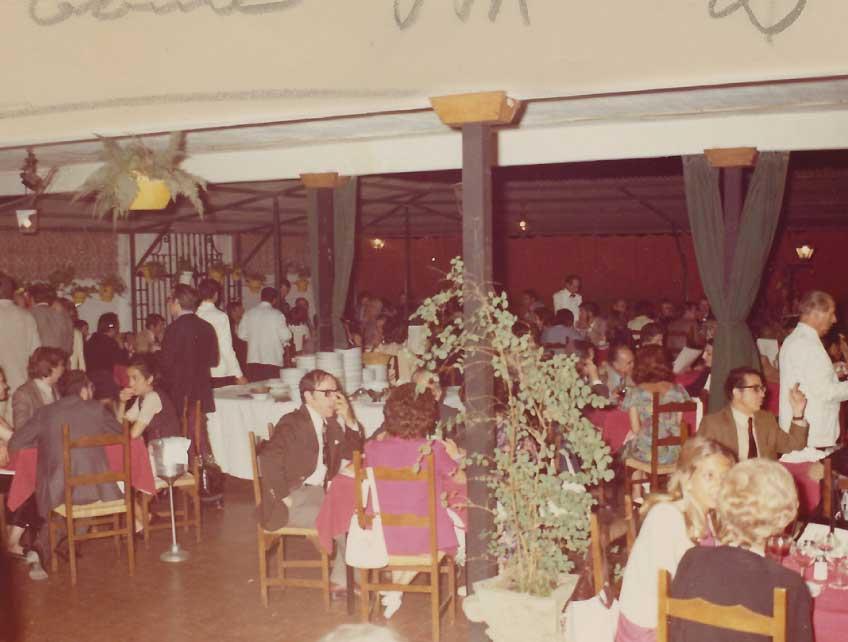 Terraza. 1980s